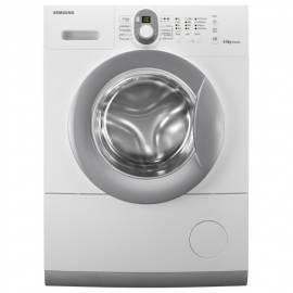 Handbuch für Waschmaschine SAMSUNG WF0602NUV weiß