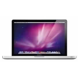 Bedienungshandbuch Notebook APPLE MacBook Pro 17? (MC725ZH/A)