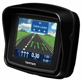Navigationssystem GPS TOMTOM Rider 3 regionale, moto Bedienungsanleitung