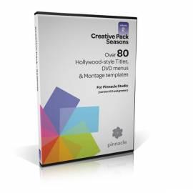 Bedienungsanleitung für Software PINNACLE Themes Creative Pack Vol. 2 (8217-10000-51)