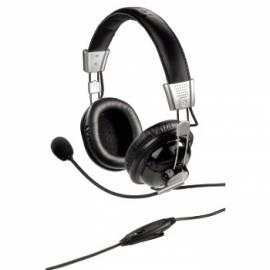 Bedienungsanleitung für Headset HAMA HS-300, schwarz, Stereo (51611)