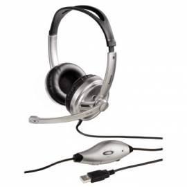 Bedienungshandbuch Headset HAMA HS-440, schwarz, Stereo (51618)