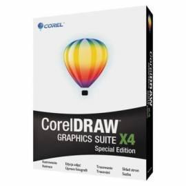 Bedienungsanleitung für Software COREL Graphics Suite X 4 Special Edition-Mini-Box CZE (CDGSX4CZSPMB)