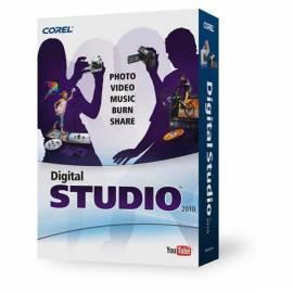 Datasheet Software COREL Digital Studio 2010 (DS2010IEMB)