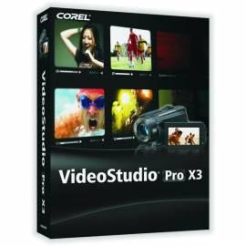 Software Corel VideoStudio Pro X 3? Mini-box Gebrauchsanweisung