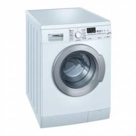 Waschvollautomat SIEMENS WM 14E465, weiß Bedienungsanleitung