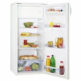 Handbuch für Kühlschrank ZANUSSI ZRA624SW weiß