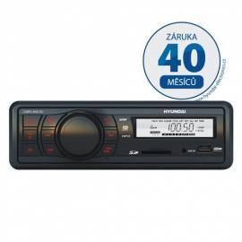 Bedienungshandbuch Autoradio mit SD-Steckplatz HYUNDAI CMRX 4802 Zehen SU