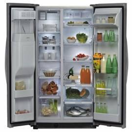 Kombination Kühlschrank / Gefrierschrank WHIRLPOOL WSC5541 und + NX Edelstahl