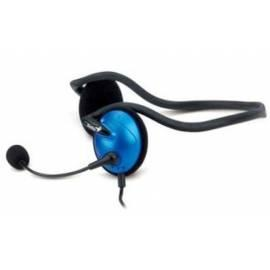 Headset GENIUS HS-300A blau (31710164100) Gebrauchsanweisung