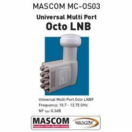 Zubehör für SA. Technik MASCOM Octo, 8. Teilnehmer/1 Satellit Gebrauchsanweisung