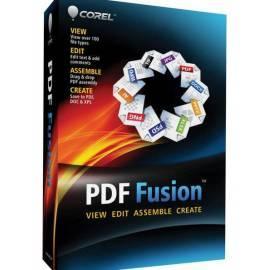 Benutzerhandbuch für Software COREL PDF Fusion 1 Mini-Box (CPDFF1IEMBEU)