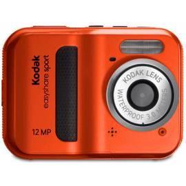 Digitalkamera KODAK EasyShare C123 rot Bedienungsanleitung