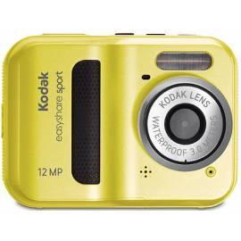 Handbuch für Digitalkamera KODAK EasyShare C123 gelb