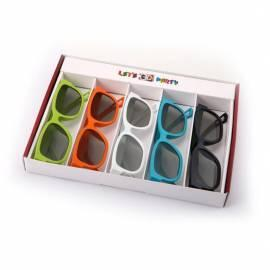 3D Brille LG, Matt, Party Pack - 5ST - Anleitung