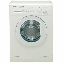 Bedienungsanleitung für Waschmaschine BEKO WMB 50811 F