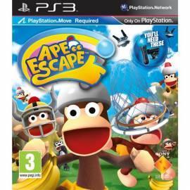 Datasheet SONY Ape Escape, pro PS3. VERSCHIEBEN