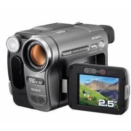 Bedienungshandbuch Videokamera Sony DCR-TRV285E Digital8