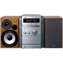 Microanlage Sony CMT-CPX22 Bedienungsanleitung