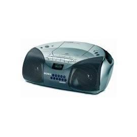 Bedienungshandbuch Radiomagnetofon Sony CFD-S100/L-s-CD