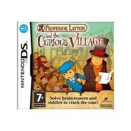 NINTENDO Professor Layton und das geheimnisvolle Dorf DS (NIDS572) Gebrauchsanweisung
