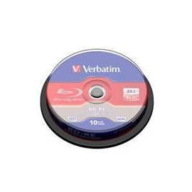 VERBATIM BD-RE SL (10 Stück) Blu-Ray/Spindel/2 X / 25GB (43694) Gebrauchsanweisung