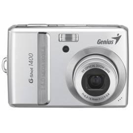 Bedienungshandbuch 14MP Digitalkamera GENIUS G-Shot, 1400 (32300001100)