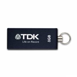 USB-flash-Disk TDK Trans-It Metall 8GB USB 2.0 (t78659) Bedienungsanleitung