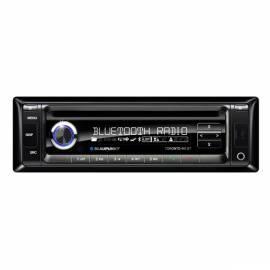 Bedienungsanleitung für Autoradio mit CD BLAUPUNKT Toronto 410BT schwarz