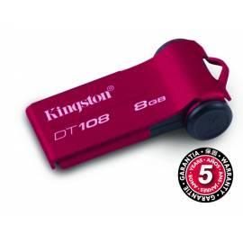 Bedienungsanleitung für USB-flash-Disk KINGSTON DataTraveler 108 8GB USB 2.0 (DT108 / 8GB)