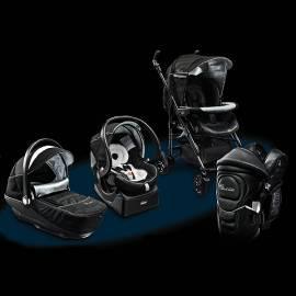Bedienungsanleitung für Kinderwagen CHICCO Trio Living + Holder Soft & Dream schwarz