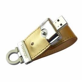 USB-flash-Disk PRESTIGIO Leather 16GB USB 2.0 (PLDF16PLGDT3A) Gold Bedienungsanleitung
