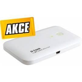 Bedienungsanleitung für Netzwerk-Prvky ein WLAN D-LINK DIR-457 MyPocket 3G Router + SIM T-Mobile 1m (DIR-457 + Internet)