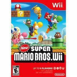 Bedienungshandbuch NINTENDO New Super Mario Bros Wii /Wii (NIWS478)