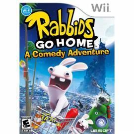NINTENDO Rabbids Go Home /Wii (NIWS590) - Anleitung