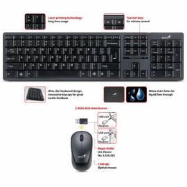 Tastatur GENIUS SlimStar 8000 WL USB + (31340035114) Gebrauchsanweisung