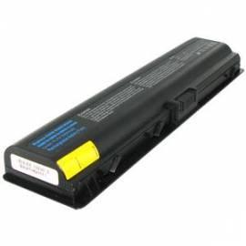 Bedienungsanleitung für Akku für HP Compaq Pavilion DV6000 6,7 5200mAh Li-Ion (05081) schwarz