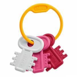 Bedienungsanleitung für CHICCO Beißringe Kunststoff Schlüssel und gezackt Rosa