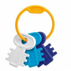 Datasheet CHICCO Beißringe Kunststoff Schlüssel und verzweigte blau