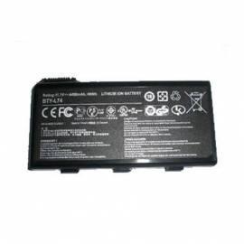 Service Manual Baterie pro notebooky MSI 9 Zellen, 6600mAh, für 15