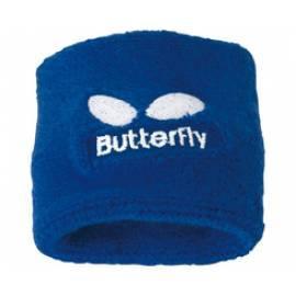 Datasheet Schweißband auf seinem Arm Schmetterling, blau