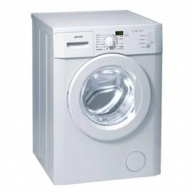 Benutzerhandbuch für Waschmaschine GORENJE WA 601091