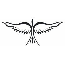 Selbstklebende Dekoration Vogel 1 (nw-ptak1) Gebrauchsanweisung