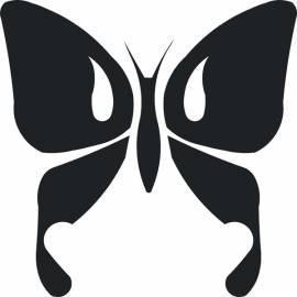 Handbuch für Selbstklebende Dekoration Schmetterling 1 (nw-motyl1)