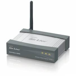 AIRLIVE AirVideo Remote-2000 schwarz - Anleitung