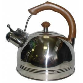 Wasserkocher Toro 330012, 3 l, Edelstahl, Holzgriff Gebrauchsanweisung