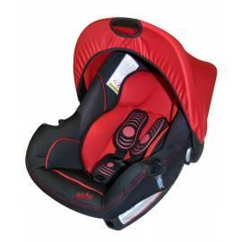 Bedienungsanleitung für Autositz NANIA Beone Lux rot-schwarz, 0-13 kg schwarz/rot