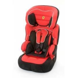 Bedienungshandbuch FERRARI Kindersitz Beline SP 9-36kg schwarz/rot