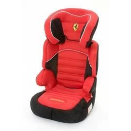 FERRARI Kindersitz Befix SP 15-36kg schwarz/rot - Anleitung