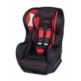 Bedienungsanleitung für Autositz NANIA Cosmo Hatrix/rot, 0-18 kg schwarz/rot